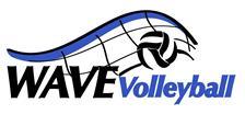 Wave Volleyball Club Logo